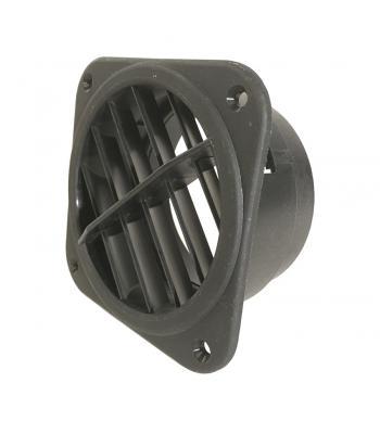 Eberspächer luchtrooster 90-100 mm, 60° kunststof draaibaar