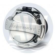 Mastervolt RVS contactdoos, 2+PE, 16 A/230 V