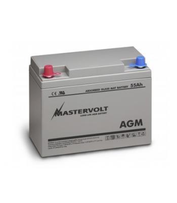 Mastervolt AGM 55 Ah accu