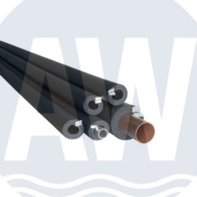 Armacell® AF/Armaflex leidingisolatie, zelfklevend en flexibel, 64x14 mm, l=2 m