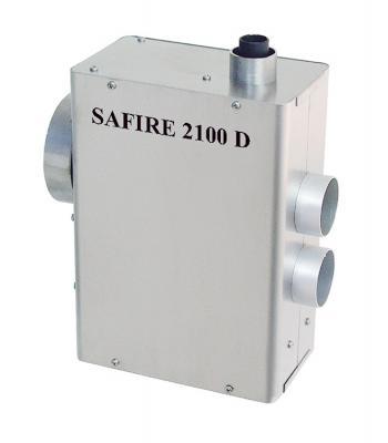 SAFIRE 2100D verwarming