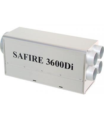 SAFIRE 3600Di verwarming