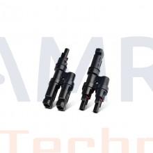 Zonnepaneel MC4 Y stekker