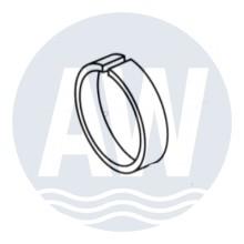 Webasto Adapter ring 55-60 mm tbv uitblaasrooster