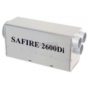 SAFIRE 2600Di verwarming 2de kans