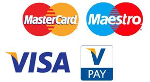 Betalen met credit card bij Amrit Watersport